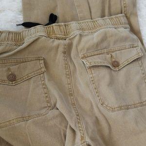 Plugg Pants - Plugg Tan Khaki Joggers Jogger Pants